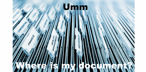 Document filing